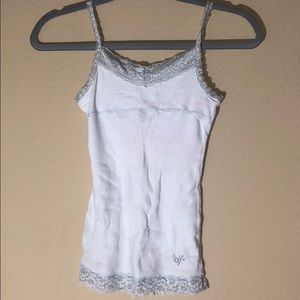 justice White lace camisole